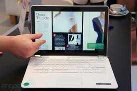 Intel muestra el concepto de ultrabook con el uso innovador de Windows 8