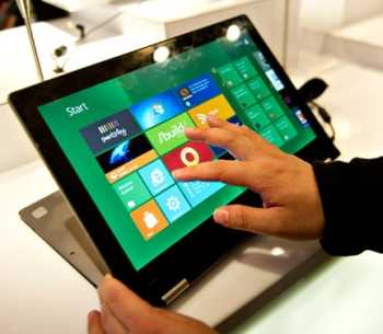 Las primeras tablets con Windows 8 probablemente sean Acer y Lenovo