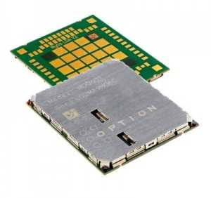 Chipset 4G de Option compatible con Windows 8