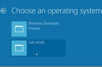 Como activar el modo seguro en Windows 8