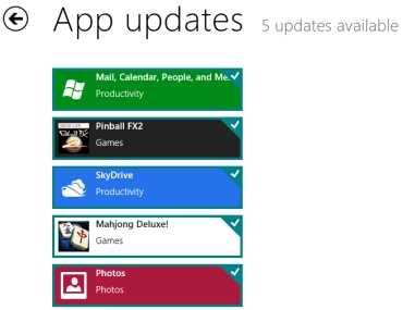 Como actualizar las aplicaciones de Windows 8 en la App Store
