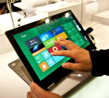 32 modelos de tabletas de Windows 8 a finales de 2012