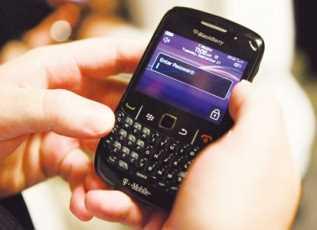 BlackBerry, Vuelven los problemas