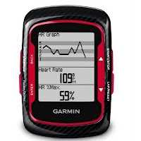 Garmin Edge 500 Red con fibra de carbono
