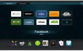 Opera TV Store, Primer explorador para SmartTV