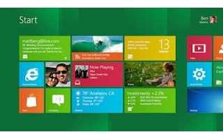 Windows 8, Un nuevo comienzo