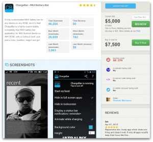 Apptopia, Comprar Aplicaciones a Desarrolladores