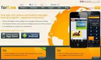 Forfone, Llamadas VoIP y SmS gratis en Android y iPhone