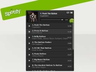 """Spotify lanza """"Botón Play"""" o el Embed de Integración para Sitio Web"""