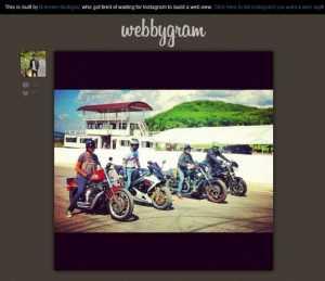 Webbygram, Una Forma de Usar Instagram en la web