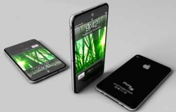 iPhone 5, concept fan art