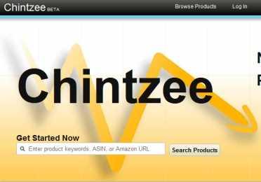 Chintzee, recibe alertas cuando hayan precios bajos en Amazon