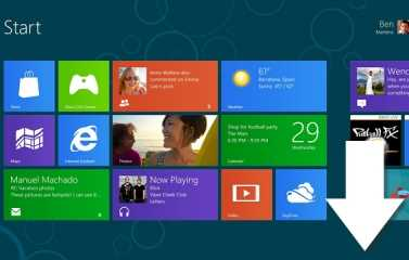 Disponible para descargar, Windows 8 Consumer Preview