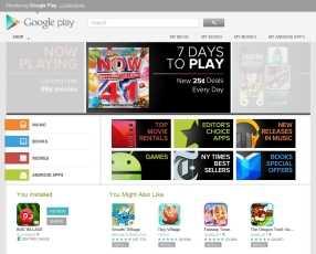 Google Play, el nuevo sistema multiplataforma de Google