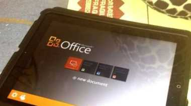 Microsoft Office para iPad, una posible pronta realidad