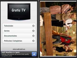 TV gratis, ver canales TV gratis en Android