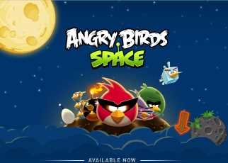 Ya disponible Angry Birds Space